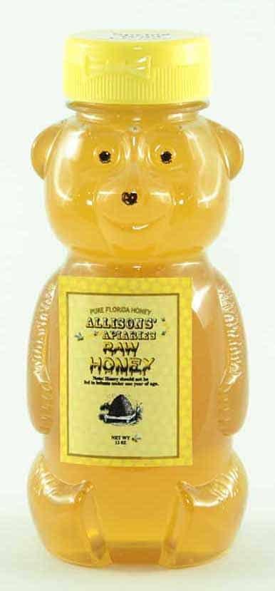 Allison's Apiaries Raw Wildflower Honey