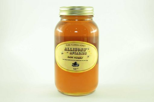 Florida Holly Honey - 48 oz - Front