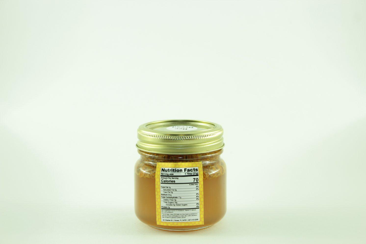 Bee Bread - 12 oz - Back