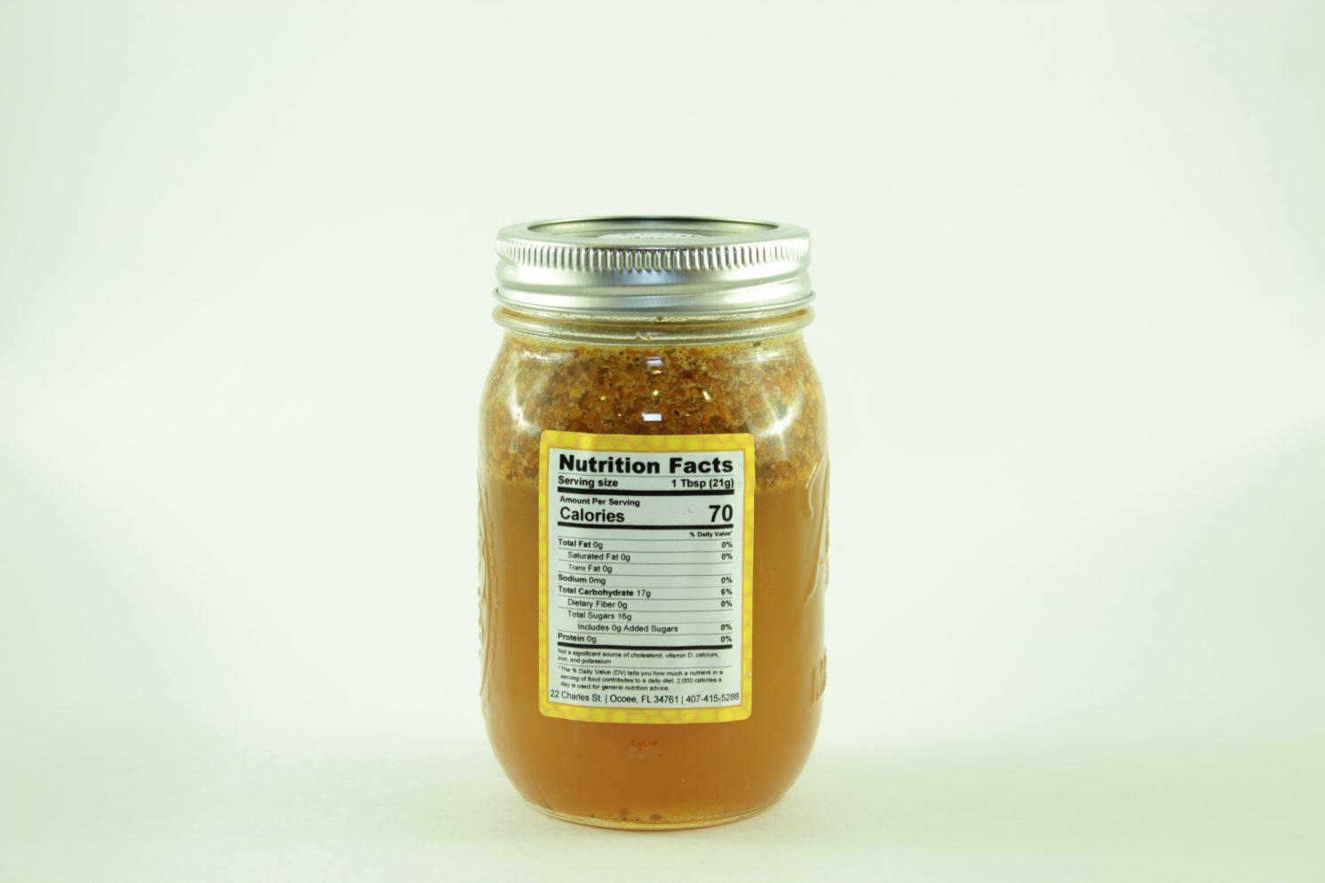 Bee Bread - 24 oz - Back