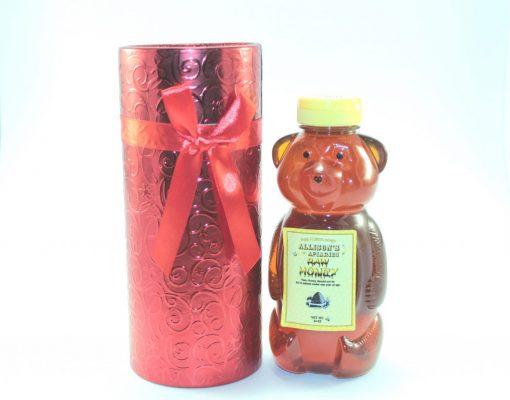 One 24 oz Honey Bear Christmas Gift