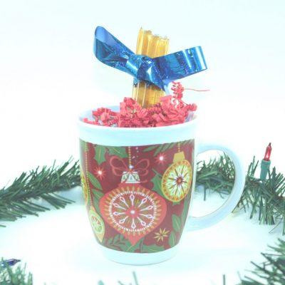 Honey Sticks and Mug Christmas Gift