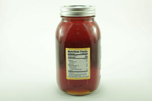 Florida Summer Wild Flower Honey - 48 oz - Back
