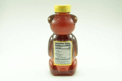 Florida Summer Wild Flower Honey - 24 oz - Back