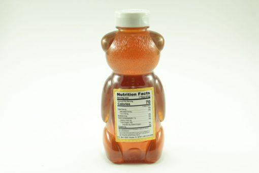 Florida Palmetto Honey - 24 oz - Back