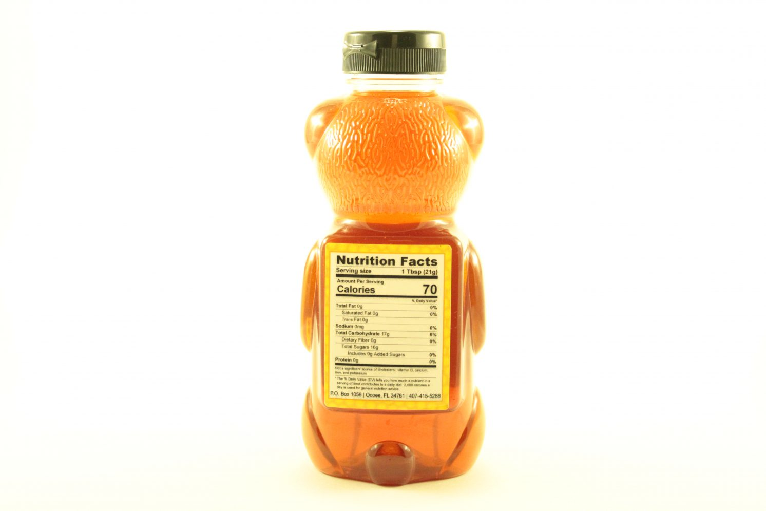 Orange Blossom Blackberry - 24 oz - Back