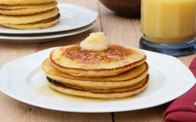 Florida Citrus and Honey Butter Pancakes